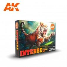 AK Interactive Intense Color Set 3rd Gen Paint Set