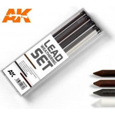 AK Interactive Lead Weathering Hard Pencil Set