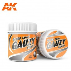AK Interactive Gauzy Agent Glass Coat 100ml Bottle