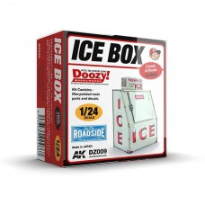 AK Interactive 1/24 Ice Box Commercial Version (Resin) Kit
