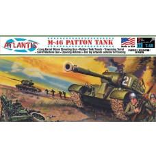 Atlantis 1:48 M-46 Patton Tank Plastic Model Kit