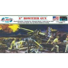 "Atlantis 1:48 US Army Howitzer 8"" Plastic Model Kit"