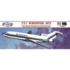 Atlantis 1:96 727 Whisper Jet Airliner Plastic Model Kit