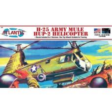 Atlantis 1/48 H-25 Army Mule Helicopter Plastic Model Kit