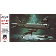 Atlantis Model Company 1:115 P3A Orion w/Stand Plastic Model Kit