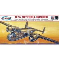 Atlantis 1/64 B-25 Flying Dragon w/Stan Plastic Model Kit