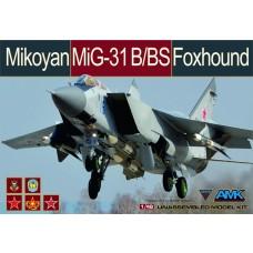 AMK 1:48 MiG-31B/BS Foxhound Plastic Model Kit