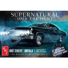 AMT 1/25 Scale 1967 Chevy Impala Supernatural Plastic Model Kit AMT1124