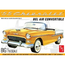 AMT 1/16 1955 Chevy Bel Air Convertible Plastic Model Kit
