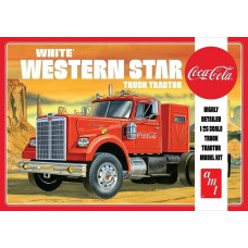 AMT 1/25 White Western Star Semi Tractor Plastic Model Kit