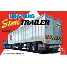 AMT 1:25 Big Rig Semi Trailer Plastic Model Kit