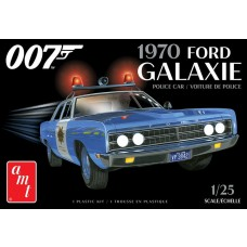 AMT 1/25 1970 Ford Galaxie James Bond Plastic Model Kit