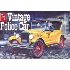 AMT 1/25 1927 Ford T Police Car Plastic Model Kit