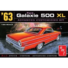 AMT 1/25 Scale 1963 Ford Galaxie XL Plastic Model Kit AMT1186