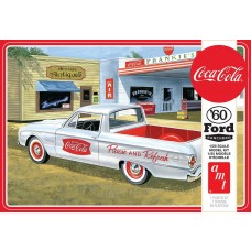 AMT 1/25 Scale 1960 Ford Ranchero Coca-Cola Plastic Model Kit AMT1189