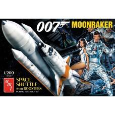 AMT 1/200 Moonraker Shuttle James Bond Plastic Model Kit