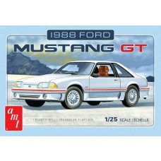 AMT 1/25 Scale 1988 Ford Mustang Plastic Model Kit AMT1216