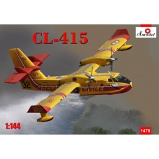 A Model 1/144 CL415 Amphibious Plastic Model Kit