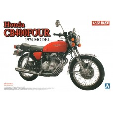 Aoshima 1:12 Honda CB400-FOUR Plastic Model Kit