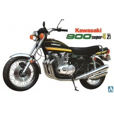 Aoshima 1:12 Kawasaki 900 Super4 Model Z1 Motorcycle Plastic Model Kit