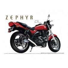 Aoshima 1:12 Kawasaki Zephyr Type IV Motorcycle Plastic Model Kit