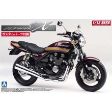 Aoshima 1:12 Kawasaki ZephyrX Motorcycle Plastic Model Kit