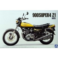 Aoshima 1:12 Kawasaki 900 Super4 Z1 19 Plastic Model Kit