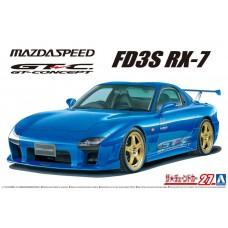 Aoshima 1/24 Mazda Speed FD3S RX-7 A-Spec GT-C '99 Plastic Model Kit