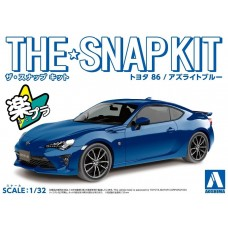 Aoshima 1:32 The Snap Kit Toyota 86 (Blue) Plastic Model Kit
