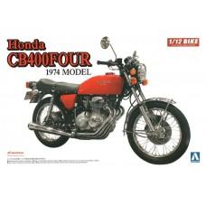 Aoshima 1:12 Honda CB400-FOUR Plastic Model Kit