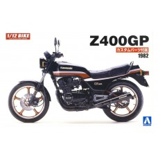 Aoshima 1/12 1982 Kawasaki Z400GP Plastic Model Kit