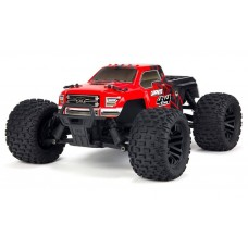 ARRMA Granite Mega 4x4 1/10 Brushed 4WD Truck RTR Red/Black