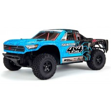 ARRMA Senton Mega 4x4 1/10 Brushed 4WD Short Course RTR Blue/Black