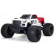 ARRMA Granite 4x4 MEGA 1/10 Brushed Monster Truck Red ARA4202V3T2