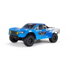 ARRMA Senton 4x4 Mega 1/10 Brushed Short Course Truck Blue ARA4203V3T2