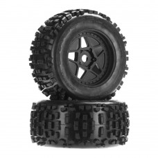 ARRMA Backflip MT 6S dBoots Mounted Tire Set