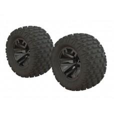 ARRMA DBoots Fortress MT Tire Set
