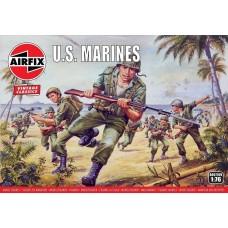 Airfix Vintage Classics 1:76 WWII US Marines Plastic Model Kit