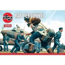 Airfix Vintage Classics 1:76 RAF Personnel Plastic Model Kit