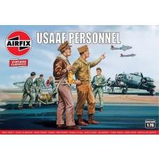 Airfix Vintage Classics 1:76 USAAF Personnel Plastic Model Kit