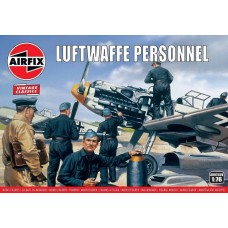 Airfix Vintage Classics 1:76 Luftwaffe Personnel Plastic Model Kit