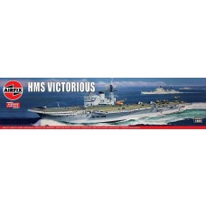 Airfix 1:600 HMS Victorious Plastic Model Kit