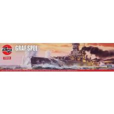 Airfix 1:600 Admiral Graf Spee Plastic Model Kit