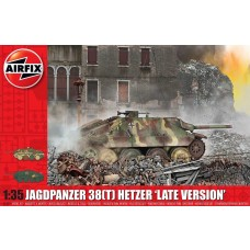 Airfix 1/35 JagdPanzer 38 Hetzer Late Plastic Model Kit