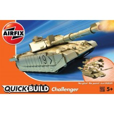 Airfix QUICK BUILD Challenger Plastic Model Kit