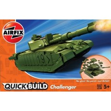 Airfix QUICK BUILD Challenger - Green
