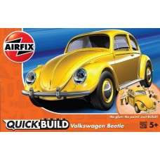 Airfix QUICK BUILD VW Beetle - Yellow
