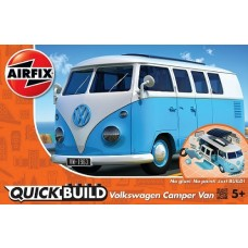Airfix QUICK BUILD VW Camper Van Blue