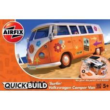 "Airfix QUICKBUILD VW Camper Van ""Surfin"" Plastic Model Kit"