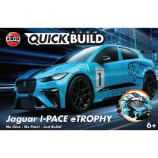 Airfix Quickbuild Jaguar I-PACE eTROPHY Plastic Model Kit